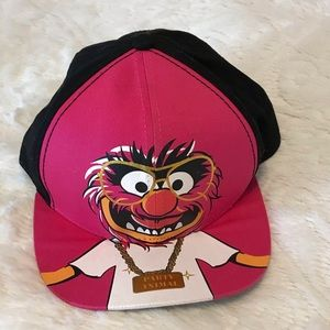 ❤️2/$15 Muppets pink animal baseball hat